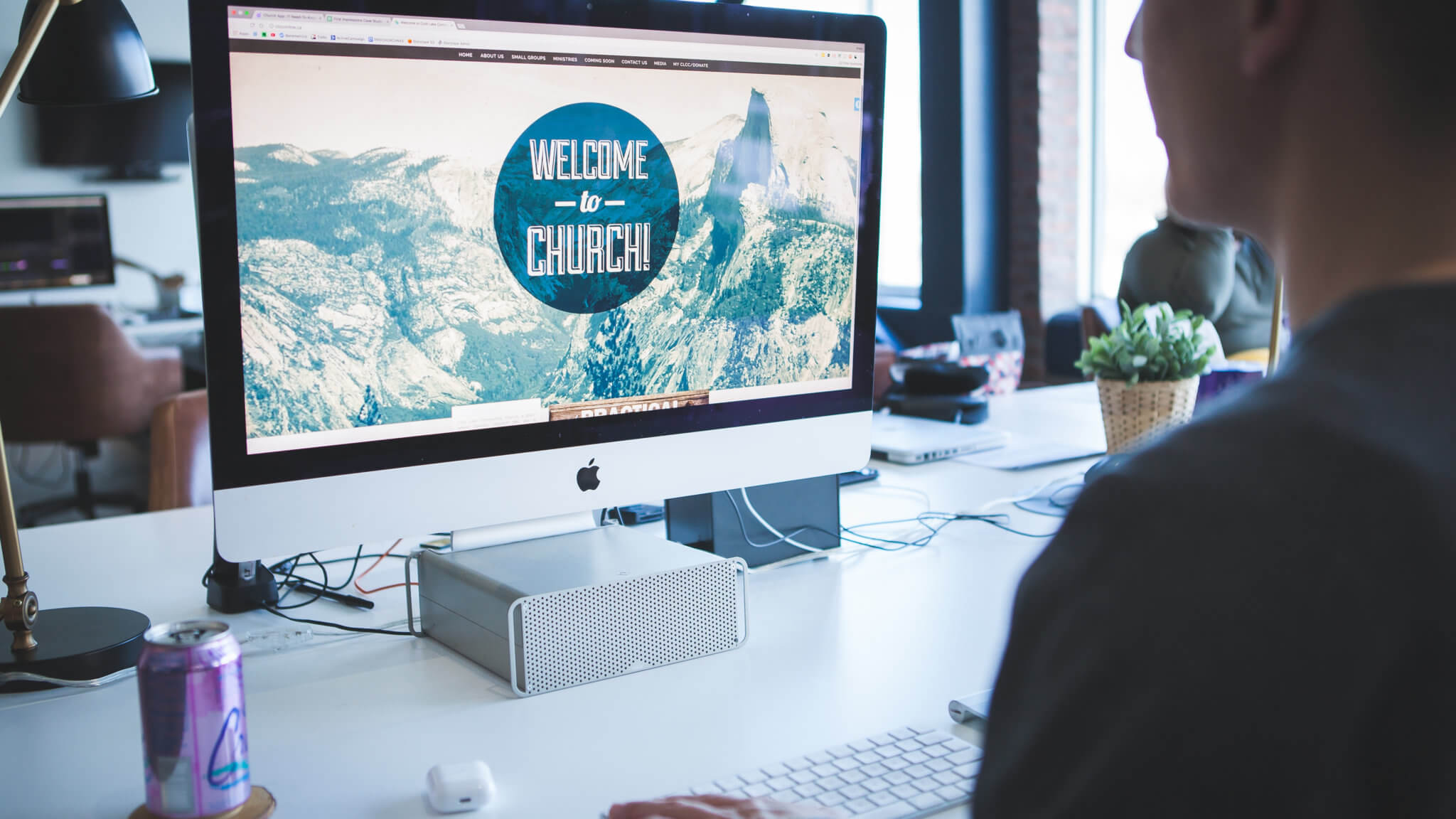 The first impression test measures the baseline for what a church website should be