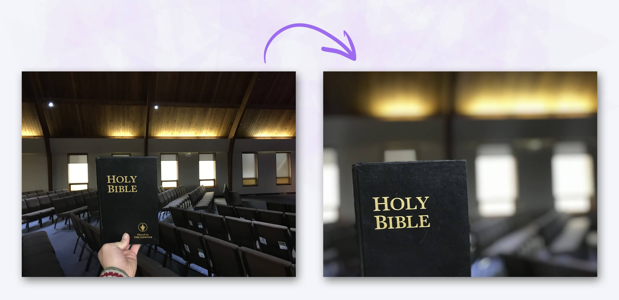 Before & After – Holy Bible Church Photos